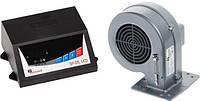 Блок управления KG ELEKTRONIK SP-05 LED+DP-02 вентилятор для твердотопливных котлов