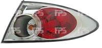 Фонарь задний для Mazda 6 хетчбек/седан '02-06 левый (DEPO) внешний, хромированный отражатель