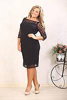 Гипюровое платье больших размеров (рр 48-72+), разные цвета