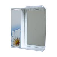 Зеркало для ванной 60-01 левое РОМАШКА-1