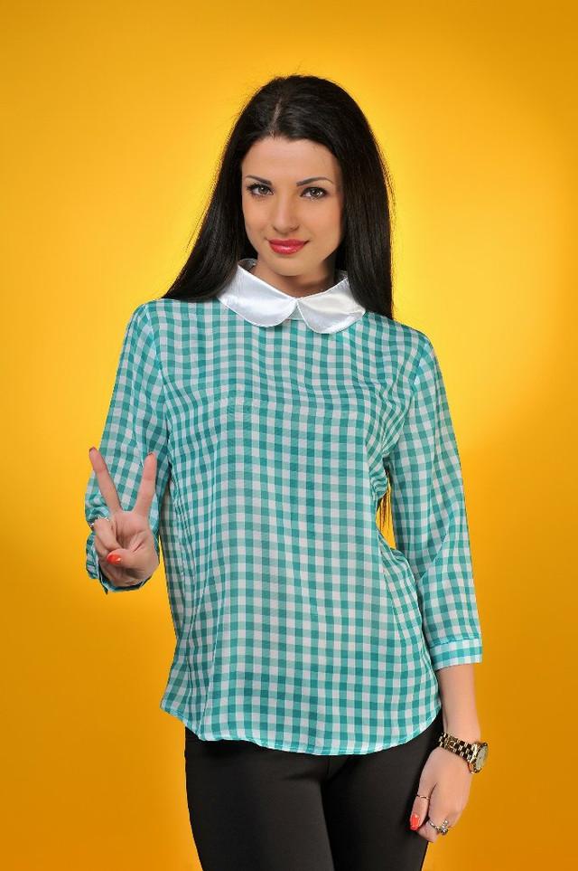 Блузка В Клетку Женская В Волгограде