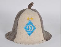 Шапка для бани и сауны войлочная Футбольный клуб Динамо