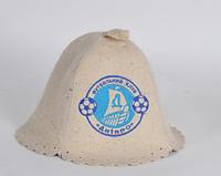 Шапка для бани и сауны войлочная Футбольный клуб Днипро