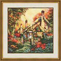 """Набор для вышивания крестом """" Сказочный домик"""""""