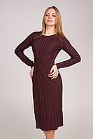 Отличное женское осеннее платье , фото 1
