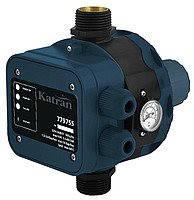 """Контроллер давления электронный Katran 779755, 1.1кВт, Ø1"""" + регулятор давления включения 1.5-3.0 bar (779755)"""