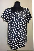 Женские рубашки +и блузы ,тонкая вискоза , холодок ,100% вискоза , 50,52,54,56, БЛ 037-6.