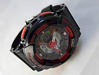 Часы женские G-Shock - Baby _G, черные с красным, подсветка