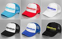 Кепка / Тракер Reebok Classic (с сеточкой)