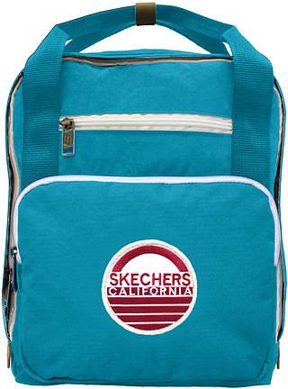 Небольшой практичный рюкзак на 12 л. SKECHERS Jamboree 76401;66 бирюзовый