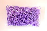 Набор аксессуаров для творчества 600 шт резиновых колец + 24 шт клипсы фиолет RAINBOW LOOM (B0010)