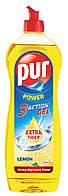 Жидкое средство для мытья посуды Pur 900 мл.