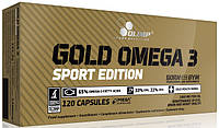 Olimp Labs Gold Omega-3 Sport Edition 120 капсул