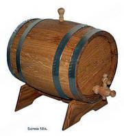 Бочка дубовая для вина, 10л.