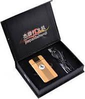 """Зажигалка электоимпульсивная USB зажигалка """"Ferrari"""" №4342 gold Аксессуары Новинка! Ferrari в кармане!"""
