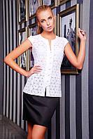 Белая Блуза для Школы Прошва S-XL