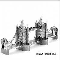 Металлический конструктор London Tower Bridge коллекционная модель