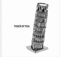 Металлический конструктор Пизанская башня коллекционная модель