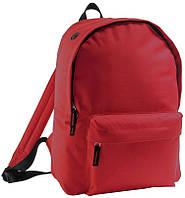 Рюкзак школьный для девочки Rider красный