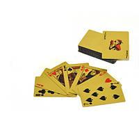 Игральные карты 54 штуки, пластиковые, в виде 100$