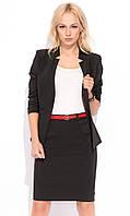 Женская юбка-карандаш черного цвета. Модель Giovanna Zaps