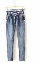 Спортивные джинсы на резинке