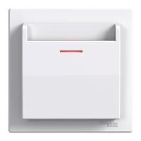 Выключатель карточный белый ASFORA Schneider electric EPH6200121