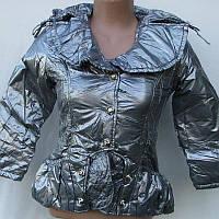 Куртка детская серебро