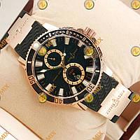 Часы Ulysse Nardin Gold/Black