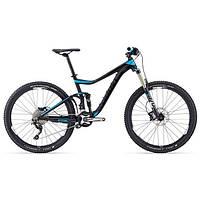 """Горный велосипед двухподвес Giant Trance 2, колеса 27.5"""" черный L (GT 15)"""