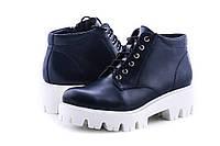 """Кожаные женские ботинки """"Mocassini"""" 535/05"""