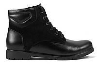 """Кожаные женские ботинки """"Mocassini"""" 536/01"""