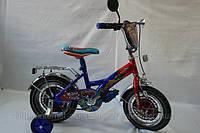 """Велосипед детский 12 Тачки """"2.5 до 5 лет"""