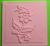 Коврик для айсинга цветок 004
