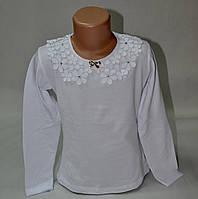 Блузка с ажурным воротником