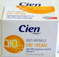 Дневной крем для лица Cien Anti-Wrinkle Day Q10 50 мл