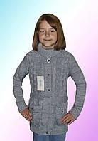 Кофта вязаная теплая детская (Б,О,Л)