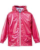 Плащ -дождевик / ветровка с капюшоном для девочки р. 104-122  малиновый ТМ Bebepa 2204-084