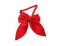 Красный галстук бабочка