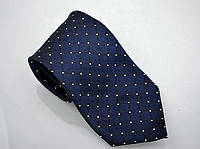 Синий мужской галстук