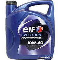 Масло моторное, ELF Evolution 700 Turbo Diesel 10W40 (5 Liter)