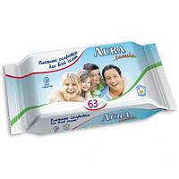 Aura Влажные салфетки для всей семьи 63шт