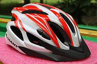 Шлем велосипедный Giant red