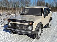 Дефлектор капота (мухобойка) Lada Niva (лада нива / ВАЗ 2121/ ВАЗ 2131) 1977+