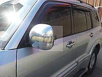 Дефлекторы окон (ветровики) Mitsubishi pajero wagon III (митсубиси паджеро вагон 3) 1999-2006