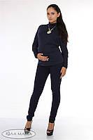 """Узкие брюки для беременных """"Inga"""", темно-синие"""