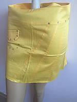 Женская юбка желтая дешево