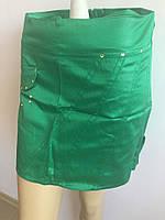 Женская юбка зеленая