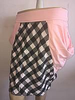 Женская юбка клетка , фото 1