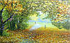 Картини осіннього пейзажу Золота осінь